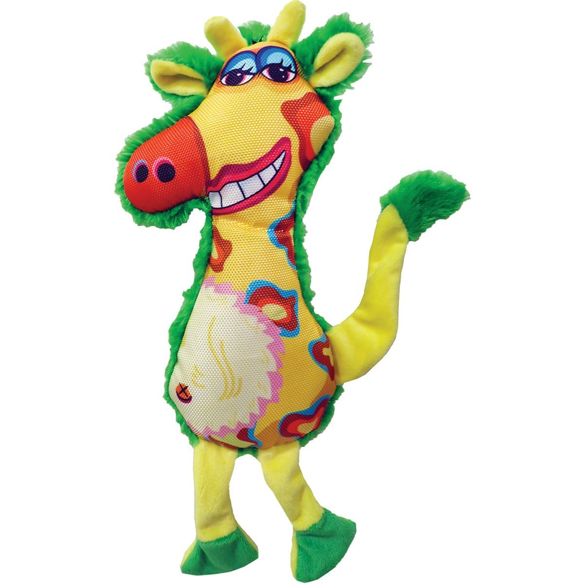 Plush Gina Giraffe Dog Toy 13""