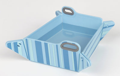 Chop2bowl Dog and Cat Travel Collapsible Water and Food Bowl Snap on Chopping Board