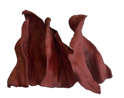 Smoked Cow Ears Dog Treats for Dogs 100 Ct | 100% Natural Bulk Dog Treats