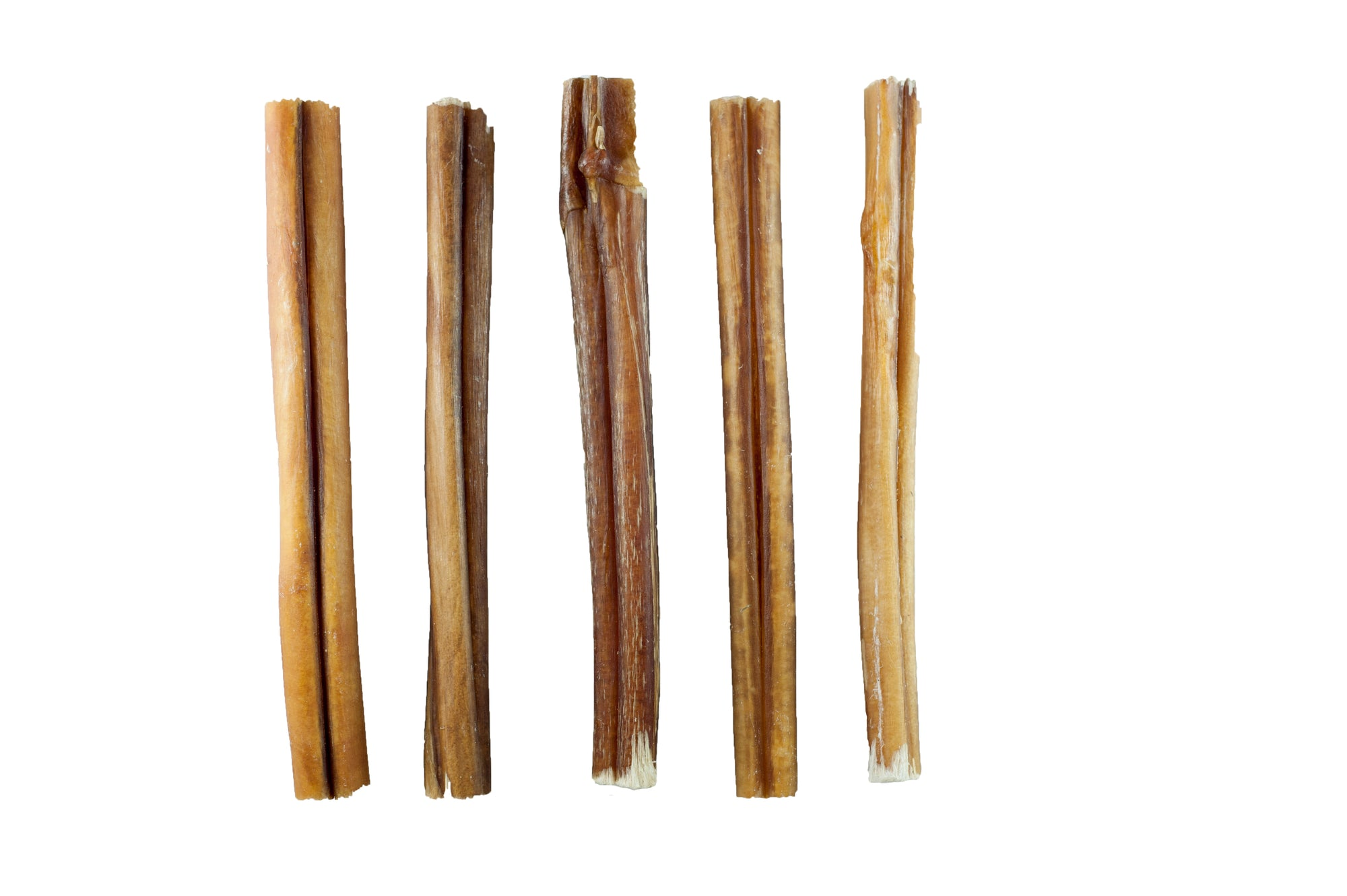 BULLY STICKS for Dogs 6 or 12 Inches - 1 Pound  | 100% Natural Dog Chews