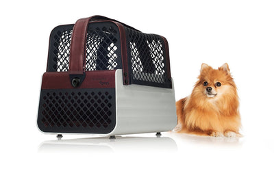 Casablanca - Crash Tested Dog Carry on for Small Dogs | Safe Transportation of Small Dogs in a Car | Safe Dog Carrier | 4 Pets