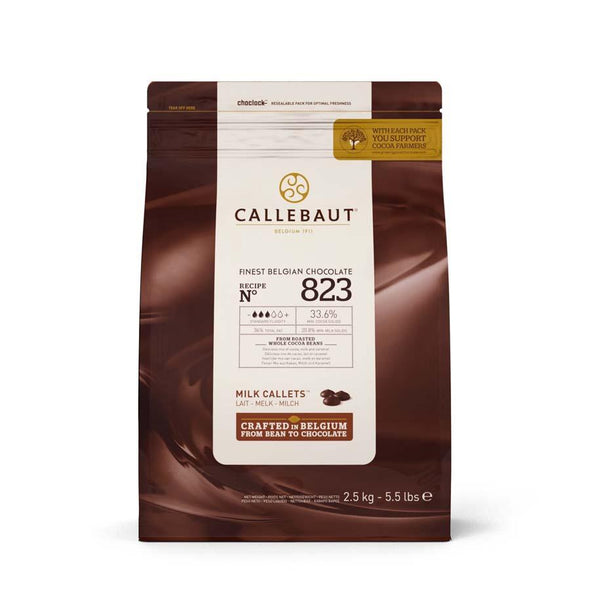 Callebaut Milk Chocolate Buttons/Callets 1 KG bag - The Shire Bakery
