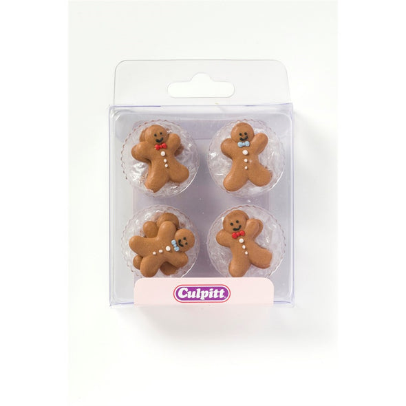 Gingerbread Pipings Pack of 12