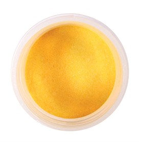Edible Pearl Colour Dust Yellow 5g - The Shire Bakery