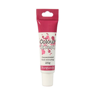Colour Splash Food Colouring Gel - Burgundy - The Shire Bakery
