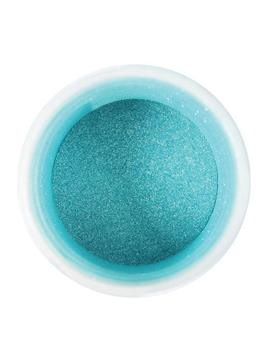 Edible Pearl Colour Dust Turquoise 5g - The Shire Bakery