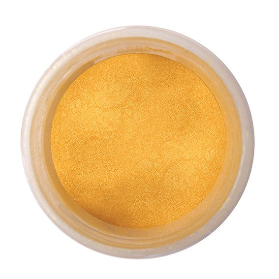 Edible Pearl Colour Dust - Rich Gold 5g - The Shire Bakery