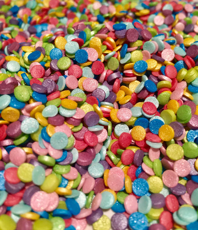 Shimmer Rainbow Confetti - The Shire Bakery