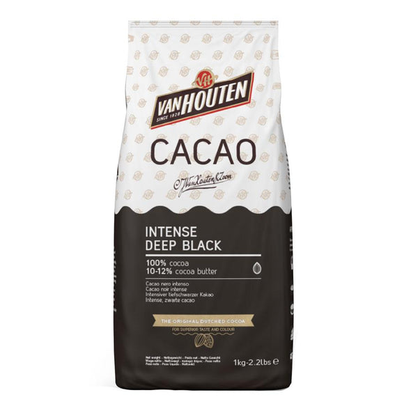Van Houten Black Cocoa 125g - The Shire Bakery