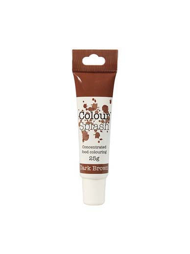 Colour Splash Food Colouring Gel - Dark Brown - The Shire Bakery