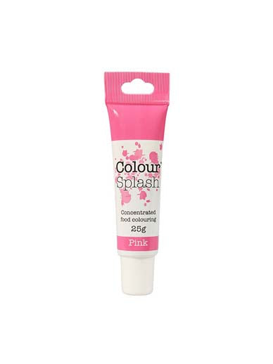 Colour Splash Food Colouring Gel - Pink - The Shire Bakery