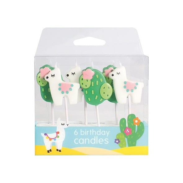 Llama and Cactus Candles - The Shire Bakery
