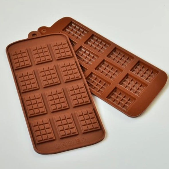 Mini Chocolate Bar Mould 12 cells