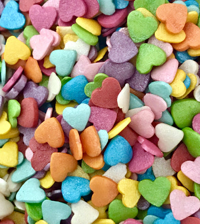 Rainbow Heart Sprinkles - The Shire Bakery