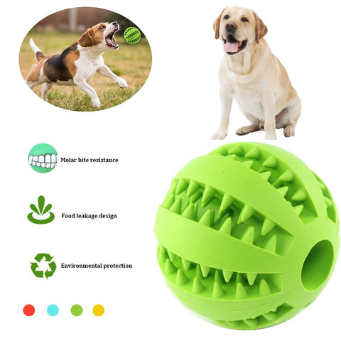 Rubber Tooth Clean Ball