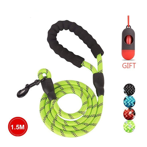 Reflective Strong Dog Leash - Dogzy Home