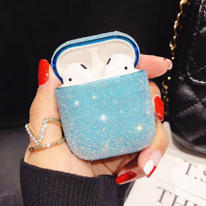 Bling Luxury Diamonds Case For Airpods Case Candy Colors Girl Protective Cover For Airpods 2