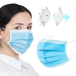 3-Ply Disposable Masks (50 Masks)