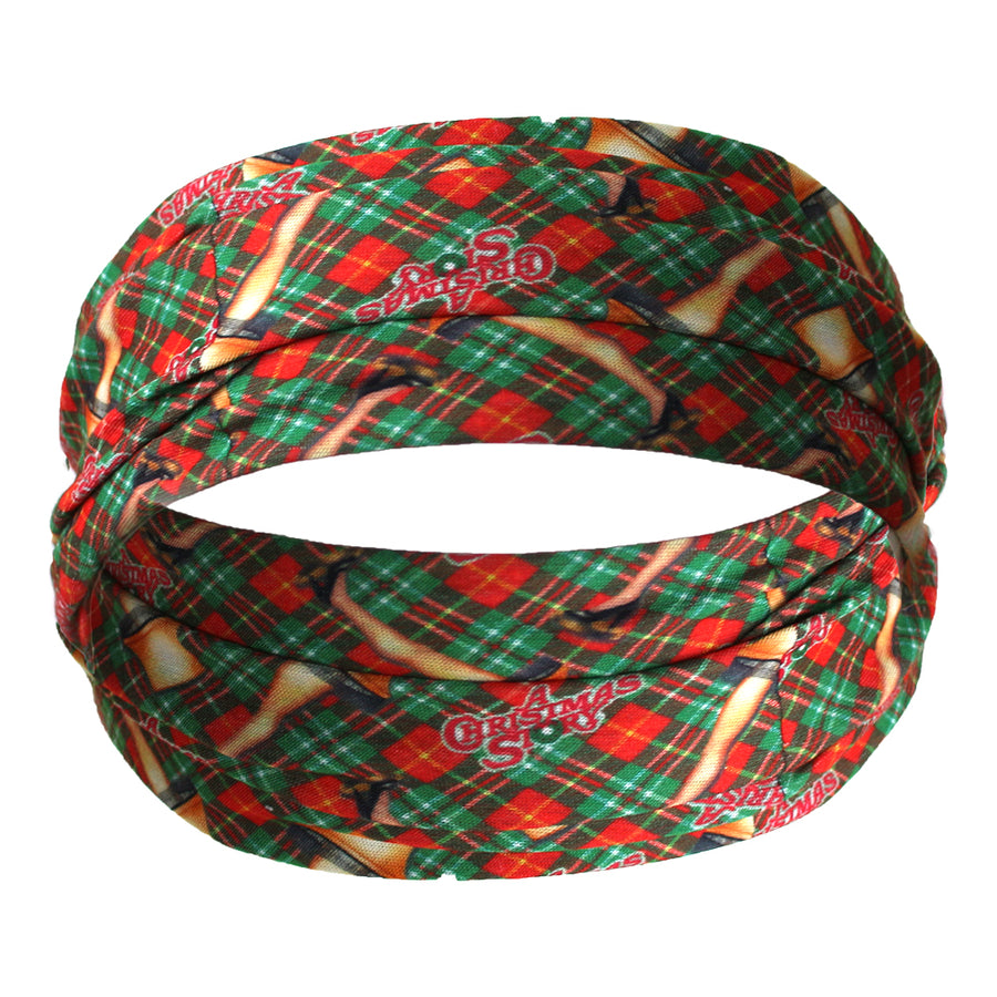 A Christmas Story Hair Wrap/Face Mask