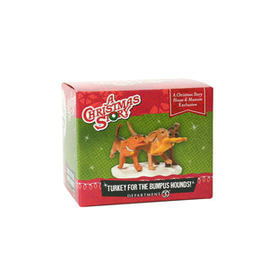 Turkey for Bumpus Hounds from Dept 56 A Christmas Story Village EXCLUSIVE