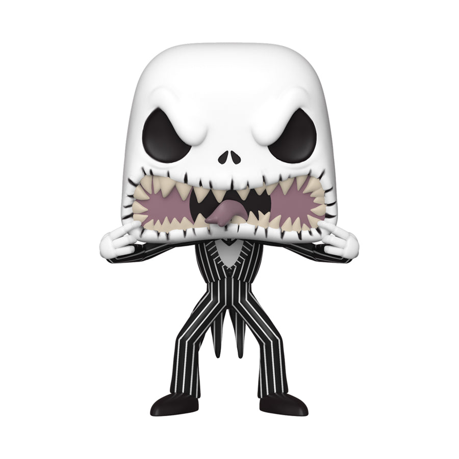 Pop! Vinyl Scary Face Jack Skellington From The Nightmare Before Christmas