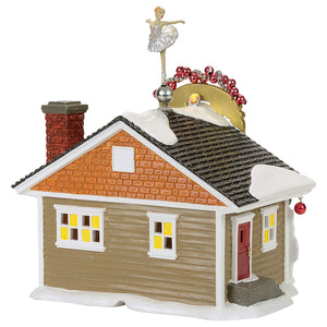The Nutcracker House From Dept 56 Snow Village