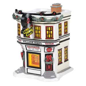 Village Vinyl From Dept 56 Snow Village