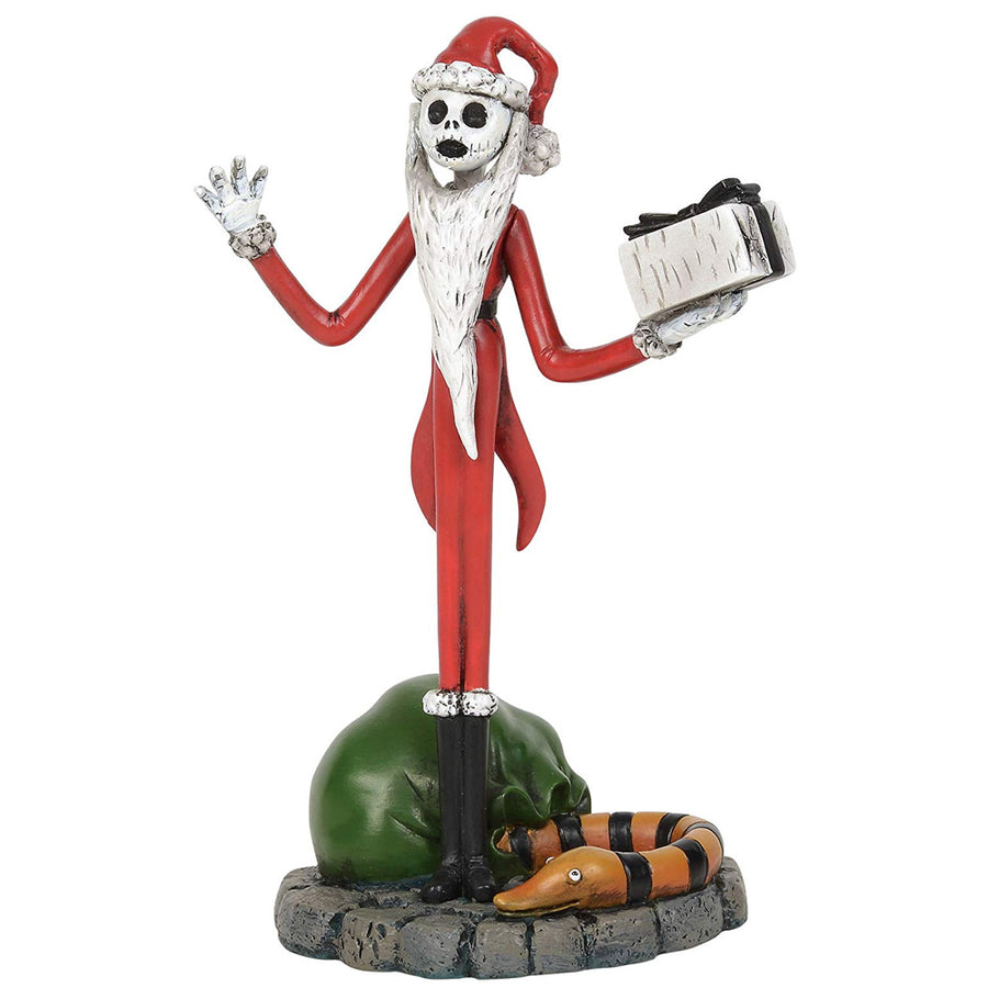 Jack Stealing Christmas From Dept 56 Nightmare Before Christmas