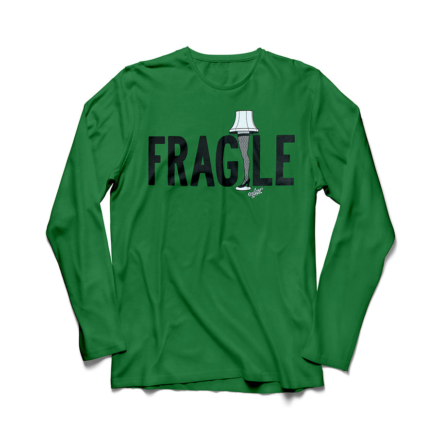 Fragile Long and Short Sleeved Shirt from a Christmas Story