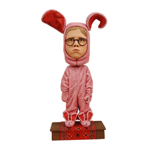 A Christmas Story Ralphie in Bunny Suit Head Knocker