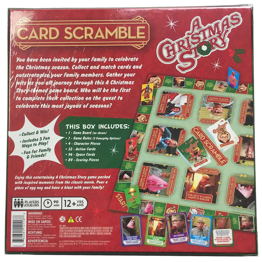 Card Scramble Game from A Christmas Story