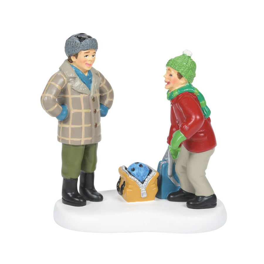 Bowling Ball Humor from Dept 56 A Christmas Story Village **PRE-ORDER**