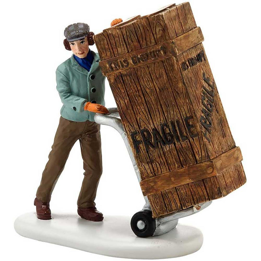 Fragile Delivery from Dept 56 A Christmas Story Village