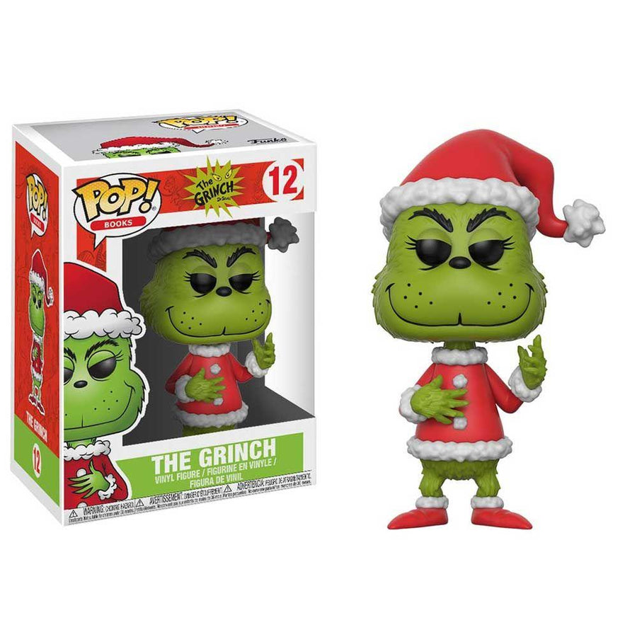 Pop! Vinyl Santa Grinch from How the Grinch Stole Christmas