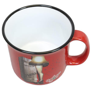 Leg Lamp 14oz Ceramic Camper Mug from A Christmas Story