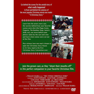 The Untold Christmas Story DVD