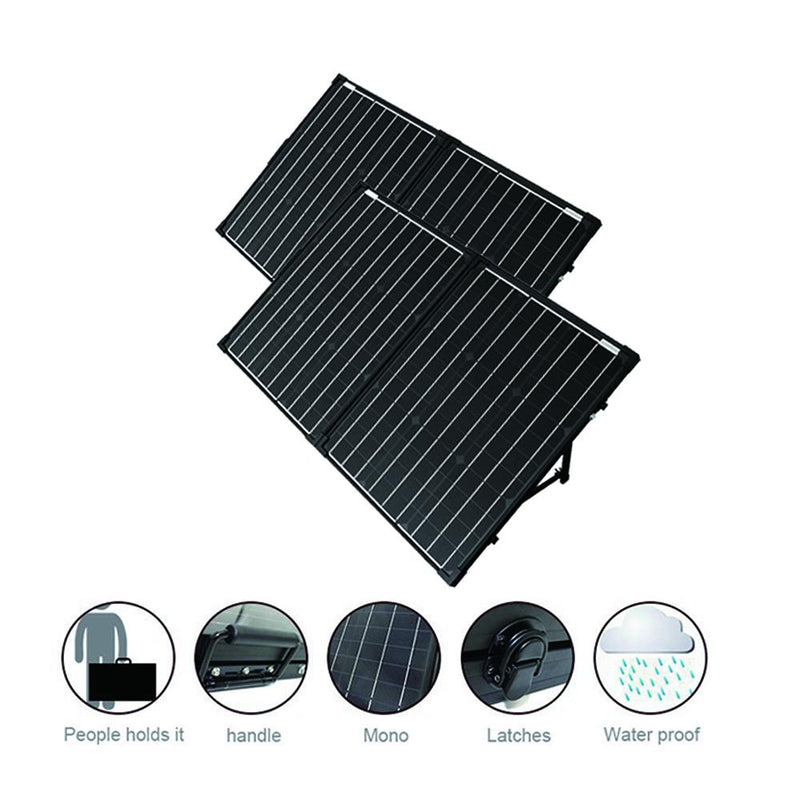 ACOPOWER PTK 200W Portable Solar Panel Kit Briefcase
