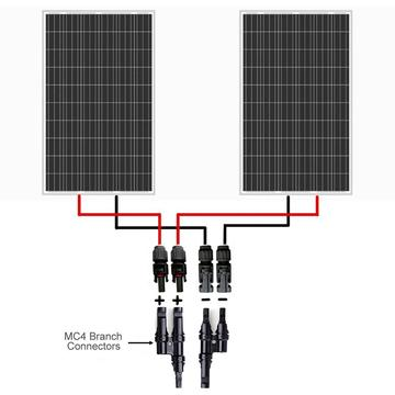 1 Pair Solar Panel MC4 T/Y Connectors