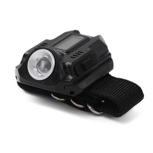 Survival LED Display Wrist Watch With Tactical Flashlight