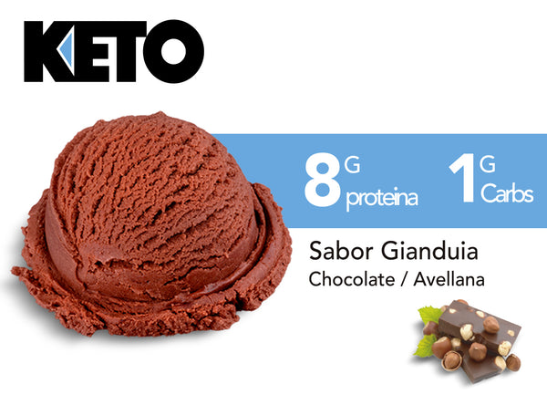 Helado Keto Gianduia 473ml