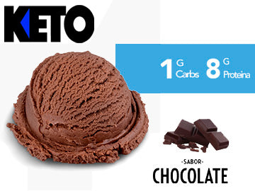 Helado Keto Chocolate 473 ml.