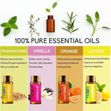5ML Essential Oils By YIDIOLA 100% Pure Therapeutic Grade Oils Water Soluble Palnts Aromatheraphy Oil