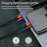 1m Charger Cable  Type C Lightning Charger for Huawei Xiaomi Super Fast Charging for Iphone X XR 8 7 6