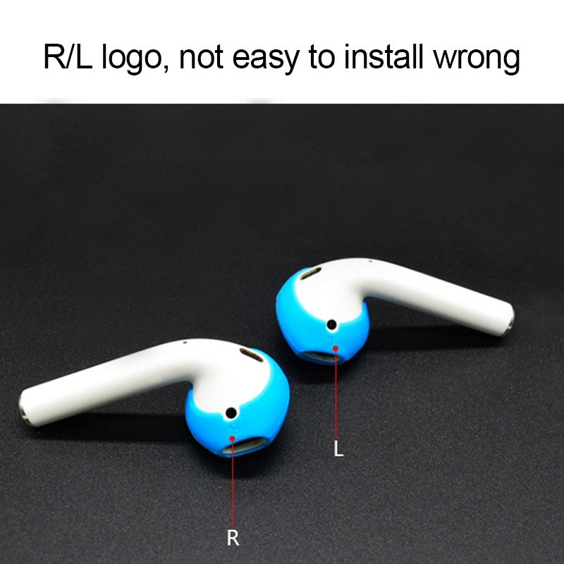 4 Pairs Silicone Earphone Case Earpods for iphone In-Ear Airpod Earbuds Cover