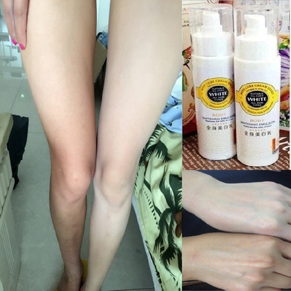 Touch of White Skin Bleaching Cream Snow Whitening Cream Whole Body Lotion Neck Knee Leg Whitening Lotion Moisturizing