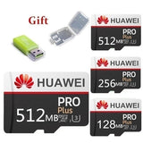 2019 hot sale HUAWEI sd memory card 128MB 256MB 512MB class10 Flash U disk sd adapter + tf card reader free