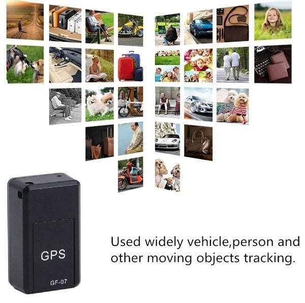 Mini Magnetic GPRS Locator GPS Tracker Anti-lost Recording Global Tracking Device for Vehicle/Car/Person/SOS /GSM/GPRS Tracking Device Anti-lost