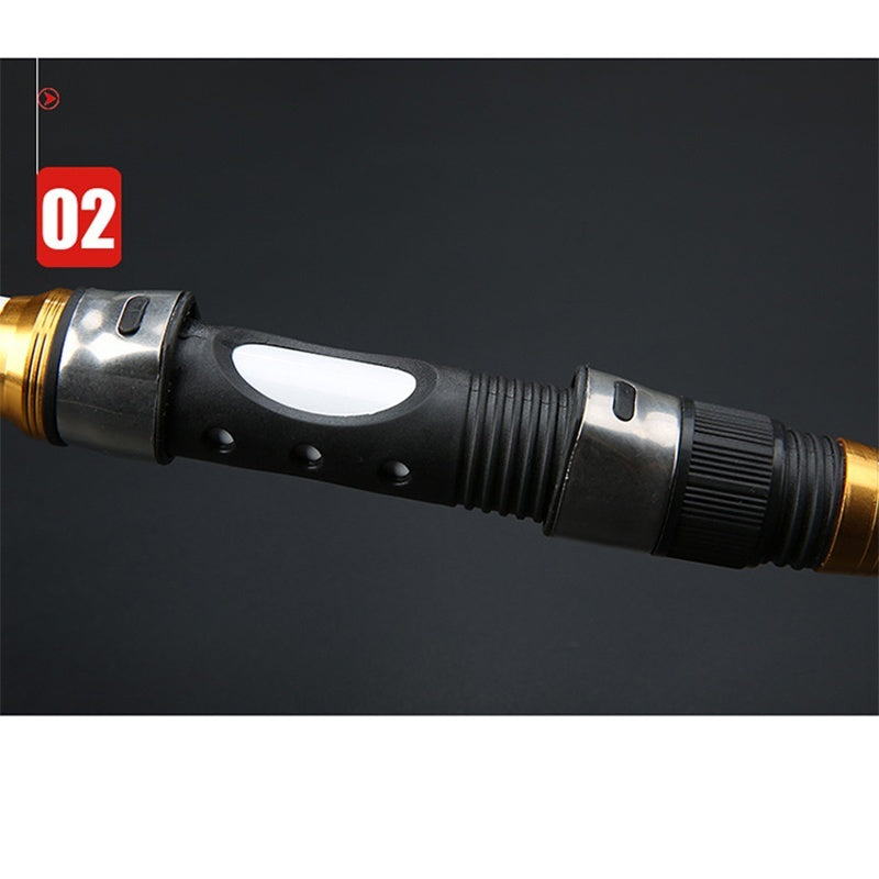 2.1M -3.6M Carp Fishing Rod Feeder Hard FRP Carbon Fiber Telescopic Fishing Rod Fishing Pole