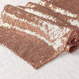 30X180cm  Gold/Silver/Rose Gold Glitter Sequin Table Runner Sparkly Wedding Party Deco 16 MERMAID Sequin PILLOW Cover * MAGICAL Color Changing REVERSIBLE