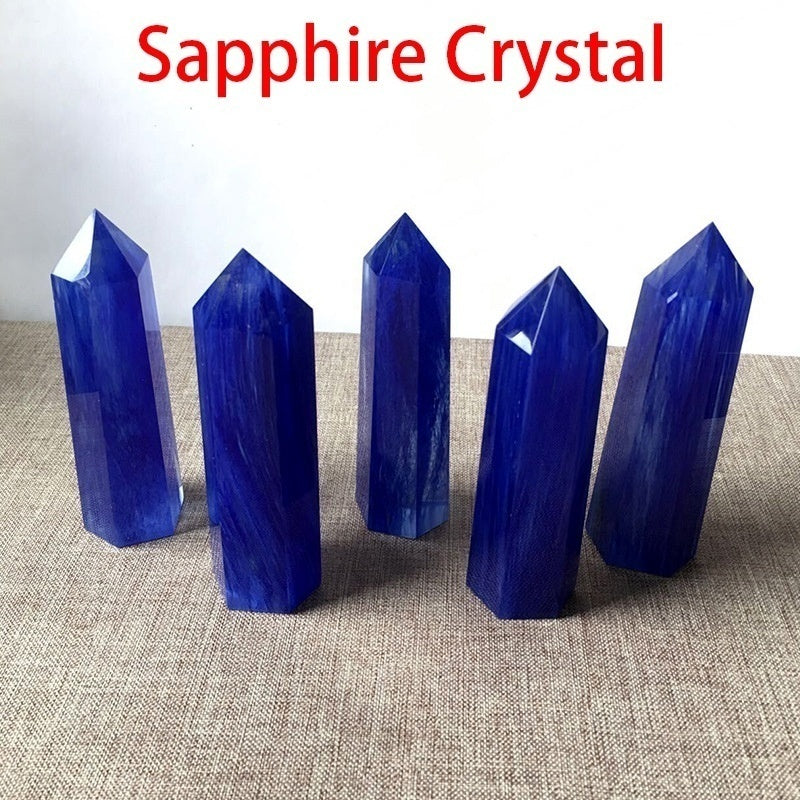 Natural Crystal Point Energy Column Obelisk Hand Polished Very Beautiful